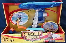Fisher Price Rescue Heroes 2-in-1 Ultra Ligtht  NIP