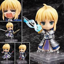 Anime Nendoroid Fate Stay Night Blue Saber Lily Avalon Figure 10cm No Box