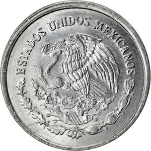 [#896234] Coin, Mexico, 5 Centavos, 1992, Mexico City, AU(55-58), Stainless