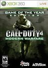 Call of Duty 4: Modern Warfare -- Game of the Year Edition (Microsoft Xbox 360, 2008)