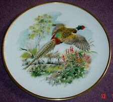 Royal Chelsea Fine China Large Collectors Plate Pheasant