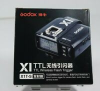 Godox X1T-S TTL 2.4G Wireless Flash Trigger Transmitter Set For Sony Camera