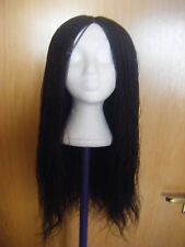 "Million Braids Twist Black & Colour 35 handmade wig, around 22"" Long."