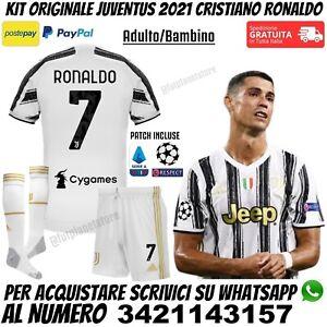 Maglia Completo 2020 2021 Cristiano Ronaldo Juventus Dybala McKennie Originale