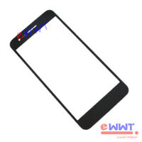 "for LG K9 LM-X210NMW 5"" Replacement Black Front Cover Screen Glass Lens ZVGS521"