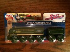 Streamlined Emily for the Thomas & Friends Wooden Railway System New for 2016!