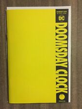 Doomsday Clock #12 Blank Variant NM