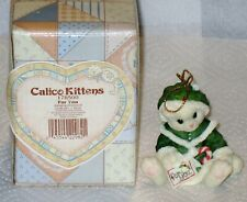 """Vintage Calico Kittens """" For You """" Mib"""