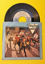 """""""HUEY LEWIS and the NEWS"""" sings 2 great songs  - 45 picture sleeve"""
