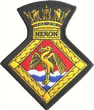 HMS Heron RNAS Yeovilton Fleet Air Arm FAA Crest Mod Embroidered Patch
