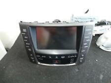 LEXUS IS250/IS250C RADIO/CD/DVD/SAT/TV SAT/NAV ASSY, GSE20R, 03/08-12/14 08 09 1