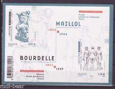 Frankreich Block 171 **  Kunst Bourdelle Mailol