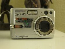 PENTAX Pentax Optio 60 6.0MP Digital Camera - Silver
