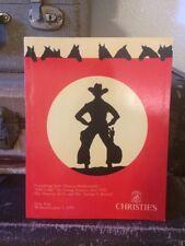 CHRISTIE'S Auction Catalog ~ Molesworth Sumers Old Lodge Furnishings Bayoud 1995