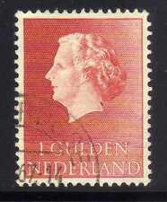 [JSC]1953 Nederland 1 Gulden Juliana old stamp