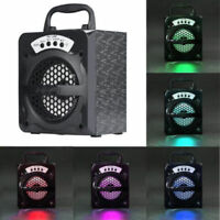 Outdoor Portable Bluetooth Wireless Speaker Super Bass With USB/TF/AUX/FM Radio