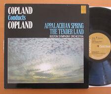 GL42705 Copland conduce Copland Appalachian Spring TENDER Land stereo RCA NM/In buonissima condizione