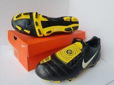 Nike Total90 Shoot II Extra FG Football Shoes Black Yellow UK10 354739-017