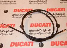 """Vintage Ducati MV choke or throttle cable 42.5"""" long housing 2.585"""" exposed   #R"""