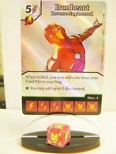 Dice Masters - 1x #057 Ironheart Reverse-Engineered FOIL-Gardiens of the Gala