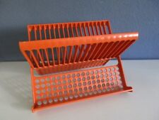 Midcentury Utensilo-Aufbewahrung-orange-TRUE VINTAGE