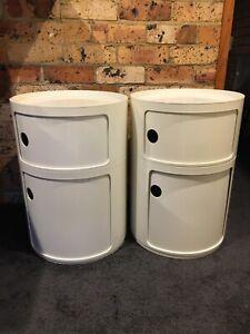Kartell Componibilli storage units white