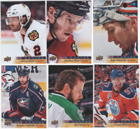 2017-18 Upper Deck Hockey - Canvas Cards Series 1 and 2 - Choose Card #'s 1-270