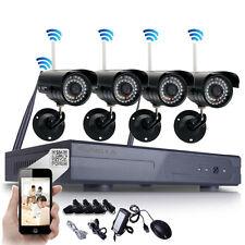 Wireless 8CH 720P WIFI System IP Camera Waterproof DVR Night Vision Outdoor WIFI