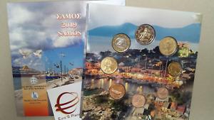 2019 8 monete BU 3,88 EURO Grecia greece Grèce Griechenland Samos Griekenland