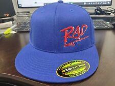 RAD BMX Flexfit Hat Blue with Red & White Logo S/M or L/XL Hutch Haro GT SE