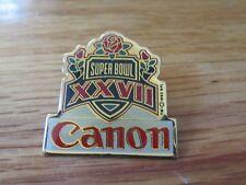 Canon SUPER BOWL XXVII Pin DALLAS COWBOYS Troy Aikman MVP