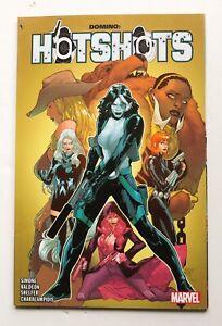 Domino Hotshots Marvel Graphic Novel Comic Book