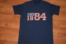 vtg 1984 Nike Blue Tag Olympics t shirt Medium Made in Usa 50/50 Very Soft