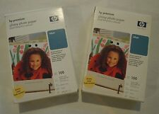 HP Premium Glossy Photo Paper - Inkjet - 2 Boxes - ONE NEW