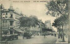 brazil, RIO DE JANEIRO, Avenida Rio Branco, A. Imprensa, Car (1921) Stamp