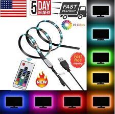 5V USB Powered RGB LED Strip Light Backlight for LCD,TV,PC,Computer,Case,Monitor