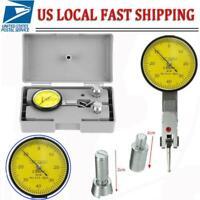 "1"" Dial Test Indicator Travel Lug Lever Gauge Scale Meter 0.001"" Graduations USA"
