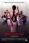 Внешний вид - April Fool's Day (1986) Movie Poster, Original, SS, Unused, NM, Rolled