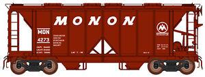 InterMountain HO 48662 Monon 1958 Cu. Ft. 2-Bay Hopper