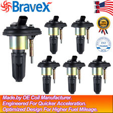 6 Pack Ignition Coils for 2004 - 2006 Chevy Trailblazer Gmc Canyon Envoy Uf-303(Fits: More than one vehicle)