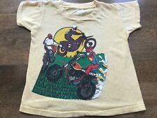 Vintage 70s Baja 500 Motorcycle Race Kid's Tee T Shirt