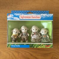 Sylvanian Families Original Flair Dale Sheep Family Figures Set RARE HTF BNIB
