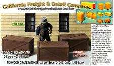 PLYWOOD CRATES-(3pcs) Scale Model Masterpieces On3 Fine Craftsman Details