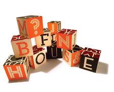 Uncle Goose House Industries Alphabet Factory Blocks 010015