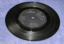 The Hollies 1971 U.K. Parlophone 45rpm Hey Willy b/w Row The Boat Together