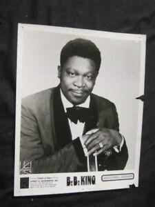 Original 70's B.B. KING Publicity Photo ABC/DUNHILL