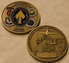 US Special Operations Command MacDill Air Force Base Florida Challenge Coin