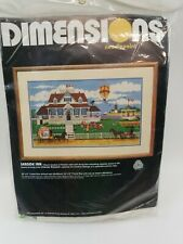 Vintage 1985 Dimensions Needlepoint Kit Seaside Inn #2275 Charles Wysocki New