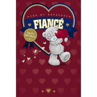 For My Gorgeous FIANCE  - Medium -Tatty Teddy Me to You - Birthday Card