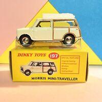 DeAgostini / Dinky Toys No. 197, Morris Mini Traveller White, Mint Condition